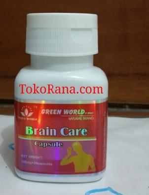 brain care capsule green world