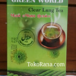 clear lung tea green world