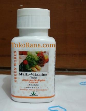 multivitamin for adult green world global