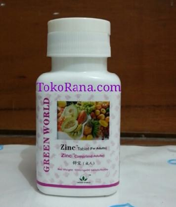 zinc tablet for adult green world global