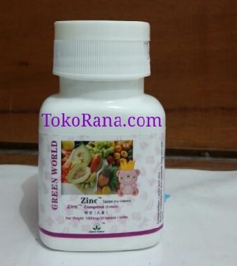 zinc tablet for child green world global